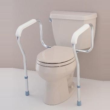 Toilet Safety Rails - Commode Rails - Nova 8200 Toilet Safety Rails
