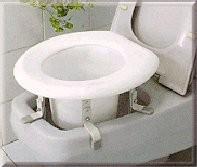 Adjustable Raised Toilet Seat Nova 8300 Seat Riser