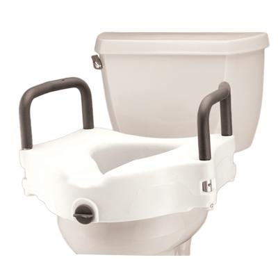 Raised Toilet Seat With Padded Arms Nova 8353 Toilet
