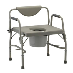 Heavy Duty Commode with Drop Arm