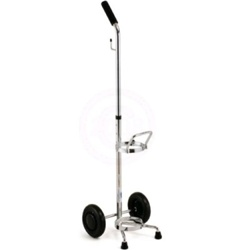 Adjustable Oxygen Cart for D,E tanks