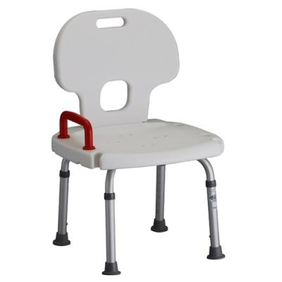 Nova Shower Chair model 9100 - Bath Bench with Back and Handle