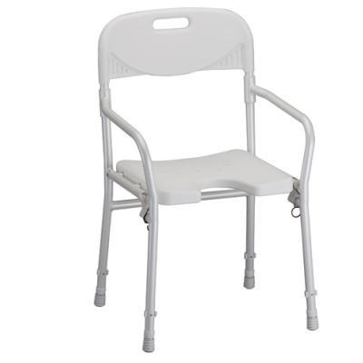 Nova 9400 Folding Shower Chair - Lightweight Bath Chair