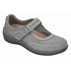Orthofeet Mesh Mary Jane Shoes