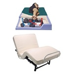 Adjustable Bed with Lateral Rotation / Alternating Pressure Mattress