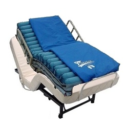 Adjustable Bed with Low Air Loss Mattress