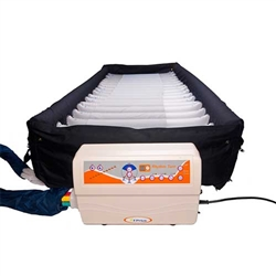 Rotational Mattress with Low Air Loss