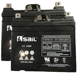 U1 33AH Batteries