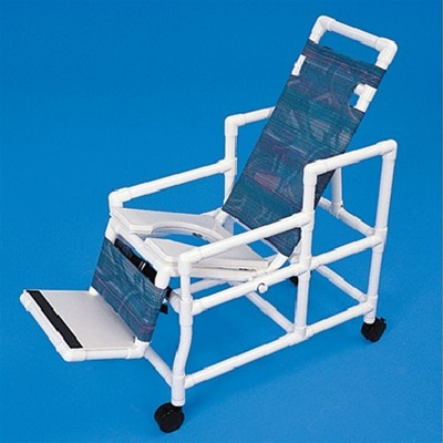 Pvc Tilting Commode Chair Tilting Commode Shower Chair
