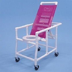PVC Reclining Shower Chair