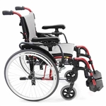 Folding Lightweight Wheelchair