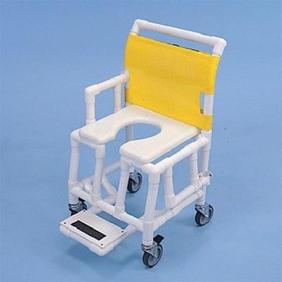 PVC Shower Commode Chair with Soft Seat - PVC Medical Products