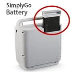 Replacement Battery for Respironics SimplyGo Portable Oxygen Concentrator