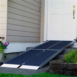 Tri-fold wheelchair Ramp