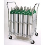 Oxygen Cylinder Cart for D/E/C cylinders.