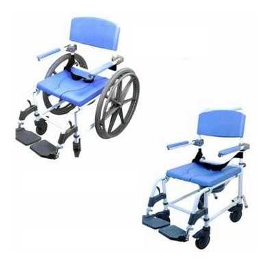 healthline ezee life shower commode chair