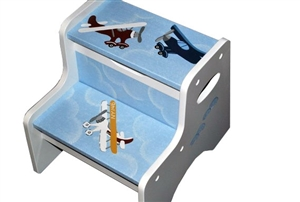 Airplanes storage stool