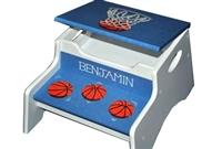 Basketball storage stool