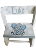 Blue Elephant Flip stool