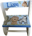 Blue happy Safari Flip step stool