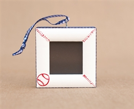 Baseball Personalized Photo Ornament