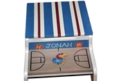 Basketball team storage stool