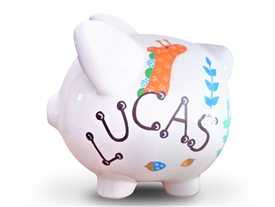 Forest Friends piggy bank