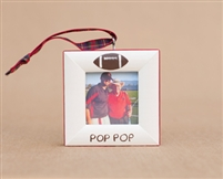 Football Personalized Photo Ornament