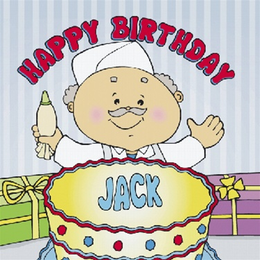 Happy Birthday Name Storybook