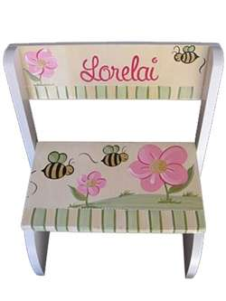 Honey Bee Flip stool