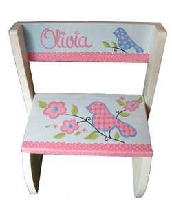 Love Birds flip stool