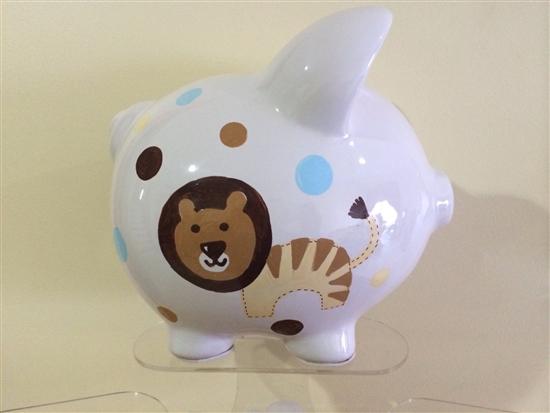 Lion Giraffe Piggy Bank Custom Piggy Banks For Babies