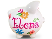 Large Petals piggy bank