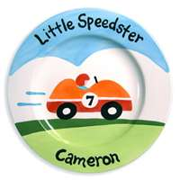 Little Speedster Plate