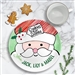Dear Santa Ceramic Cookie plate personalized