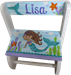 Mermaid Flip step stool