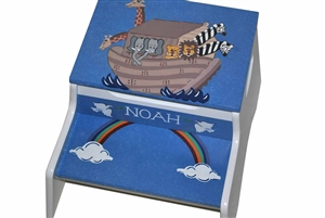 Noah's Ark storage stool