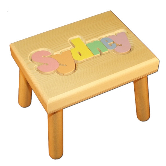 These ...  sc 1 st  Tiny Keepsakes & Personalized Puzzle step stool islam-shia.org