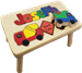 personalized puzzle step stool Nat constr