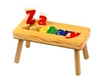 Classic personalized puzzle step stool