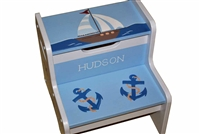 Out to sea storage stool