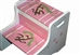 Pink Monkeys storage stool