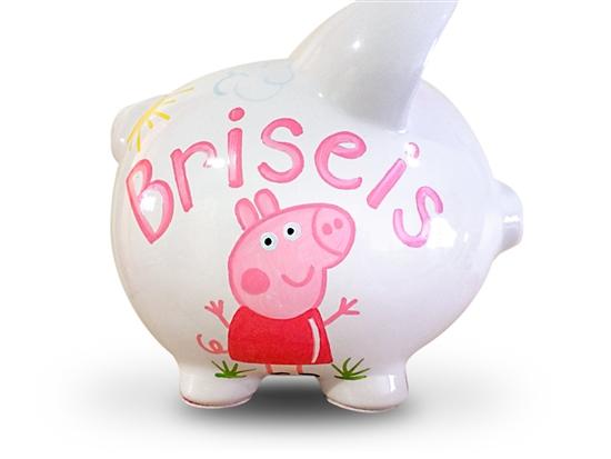 Peppa Pig Piggy Bank Personalized Pig Piggy Bank