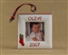 Stocking Personalized Photo Ornament