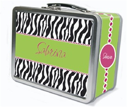 Zebra Zest Lunch Box