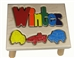 personalized puzzle step stool nat maple cars