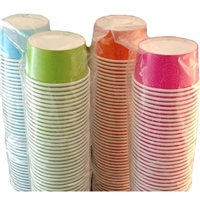6 oz Frozen Yogurt & Ice Cream Color Cup (Case of 1000) - 28300-21006