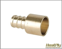 1 inch PEX Female Sweat Adapter