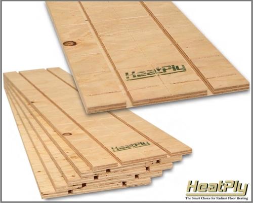 Radiant Floor Heating Run Panels