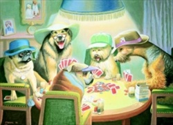 Card Players, The* Open Edition Print SOLD OUT